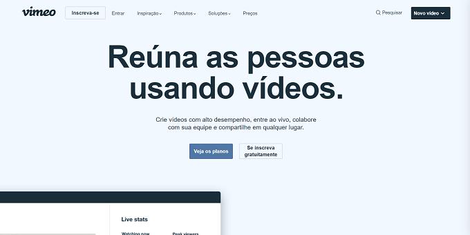 site do vimeo