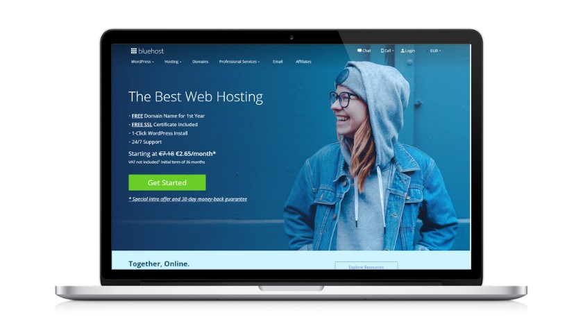 Visite o site da Bluehost - joaobotas.pt