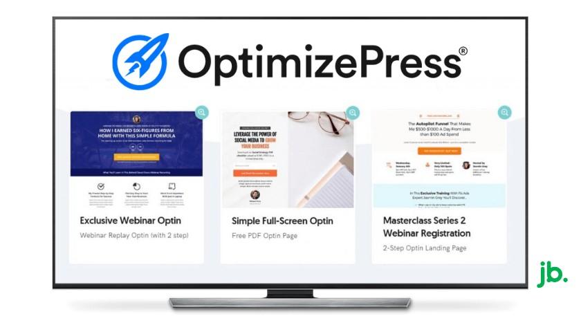 Biblioteca de modelos OptimizePress - joaobotas.pt