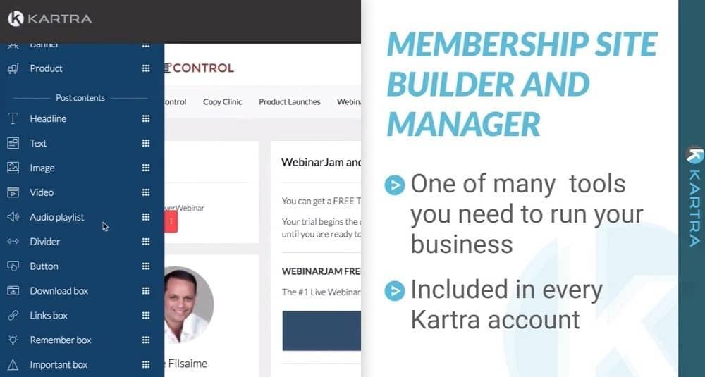 Construtor de sites de associação do kartra - joaobotas.pt