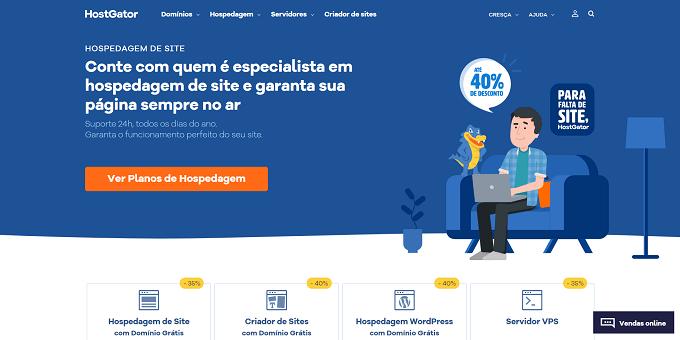 site do HostGator