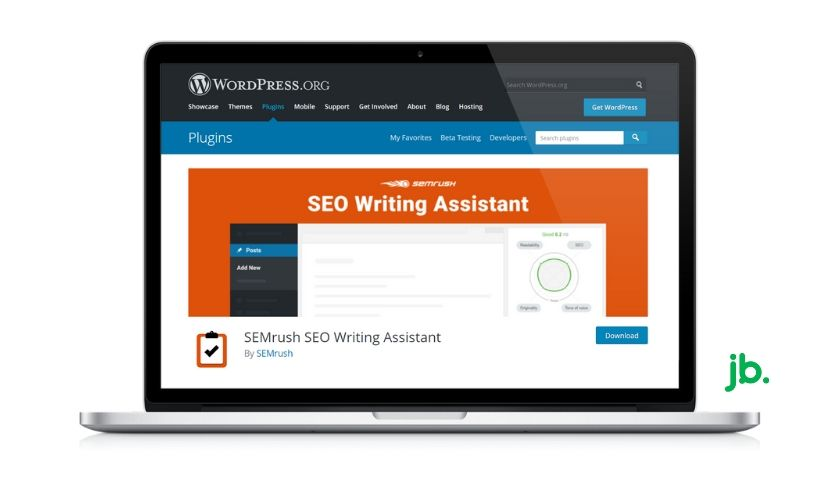 SEO Writing Assistant da SEMrush - joaobotas.pt