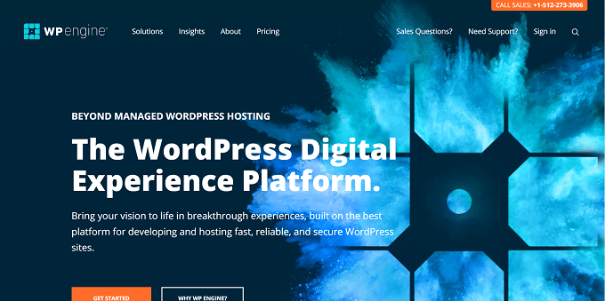 site do WP Engine