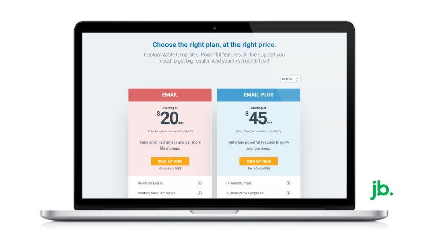 planos de preços constant contact - joaobotas.pt