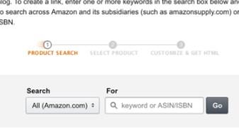 links produtos amazon