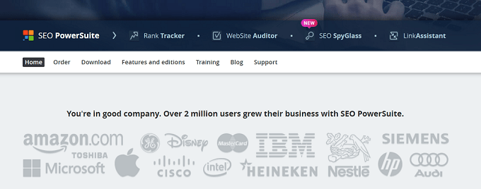 Links com SEO PowerSuite do buzzbundle