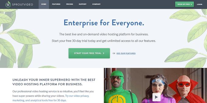 site da sproutvideo