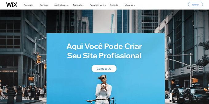 site da wix