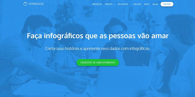 site do Venngage