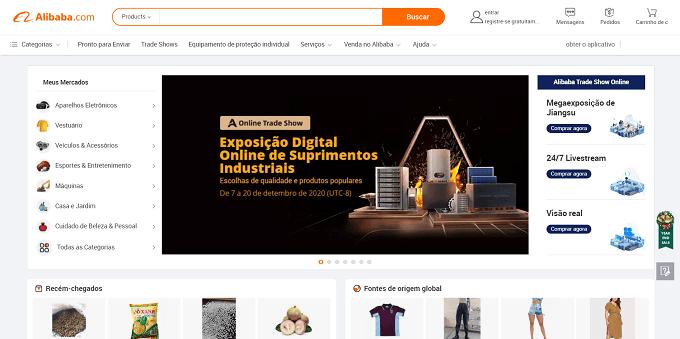 site do alibaba