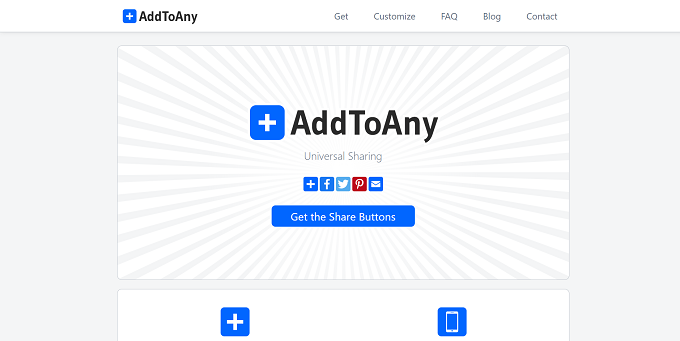 site do addtoany