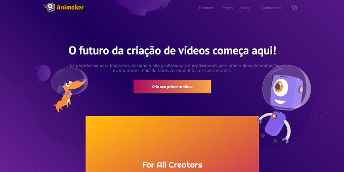 site do animaker